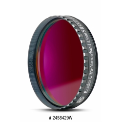 BAADER Filtre S III CCD Ultra-Narrowband 4,5 nm, filetage standard 50,8 mm  avec barillet faible épaisseur (LPFC)